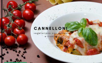 Cannelloni, szpinak i Ricotta
