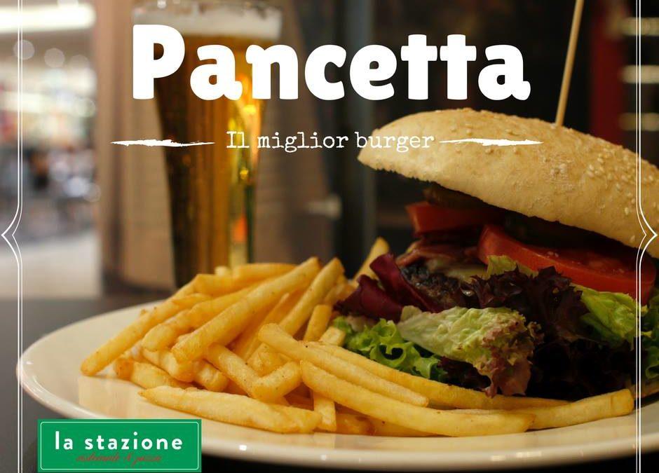 a może Burger Pancetta ?