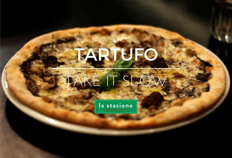 Idealna na jesień Pizza Tartufo