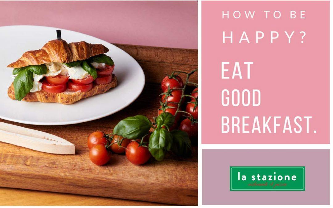 Eat good croissant