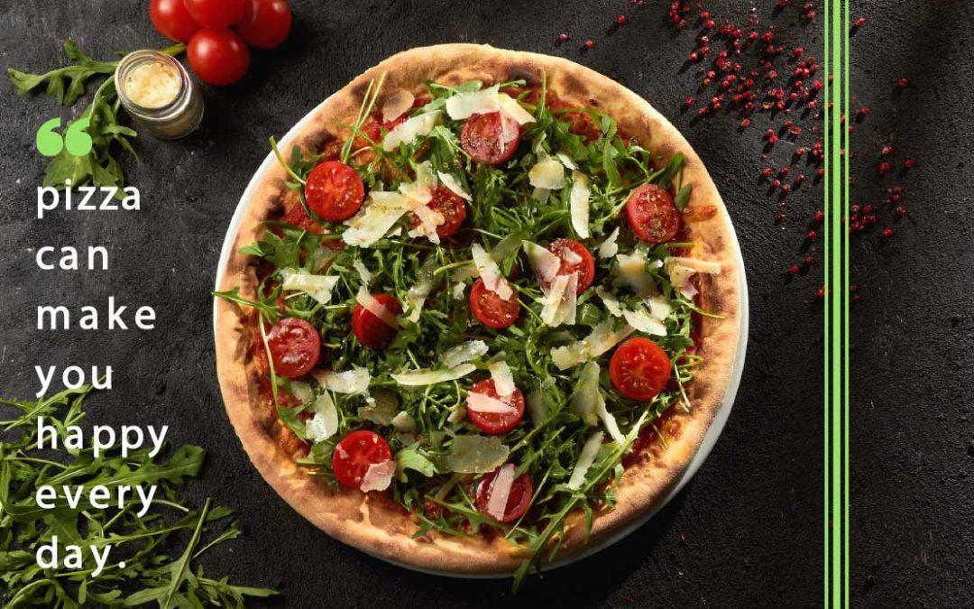 Pizza uszczęśliwia!