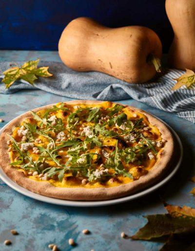 Menu jesienne - Pizza z dynią i serem ricotta -restauracja włoska w Krakowie La Stazione